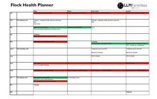 Flock Health Planner