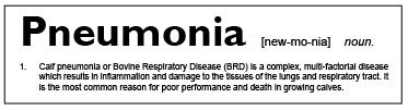 Pneumonia Definition
